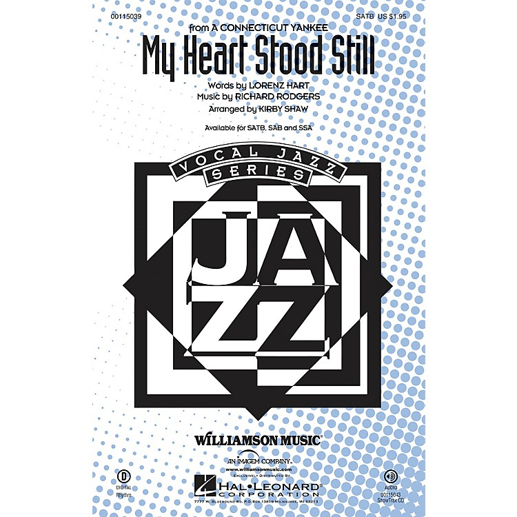 Hal Leonard My Heart Stood Still SAB Arranged by Kirby Shaw