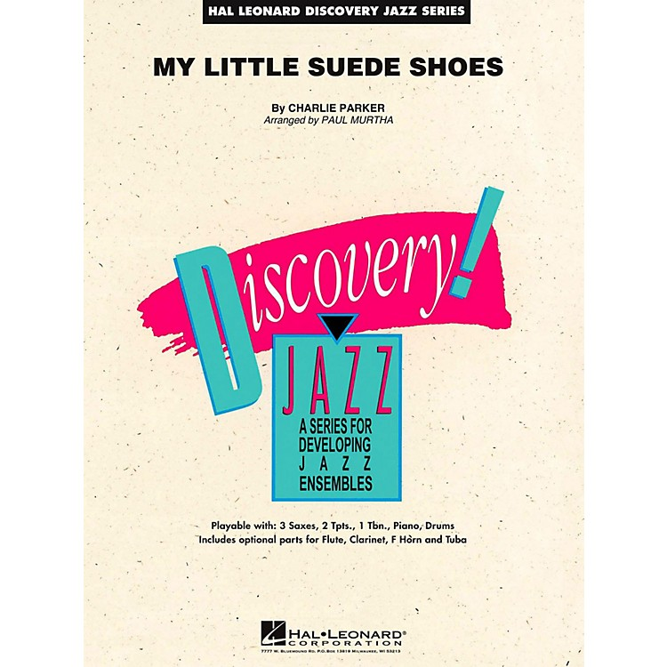 Hal Leonard My Little Suede Shoes Jazz Band Level 1.5