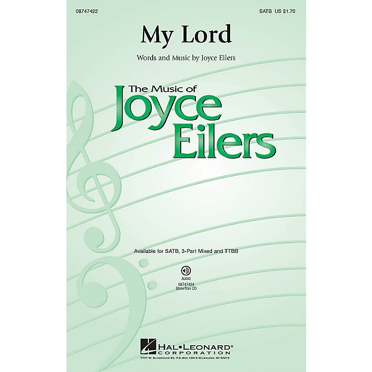 Hal Leonard My Lord ShowTrax CD Composed by Joyce Eilers