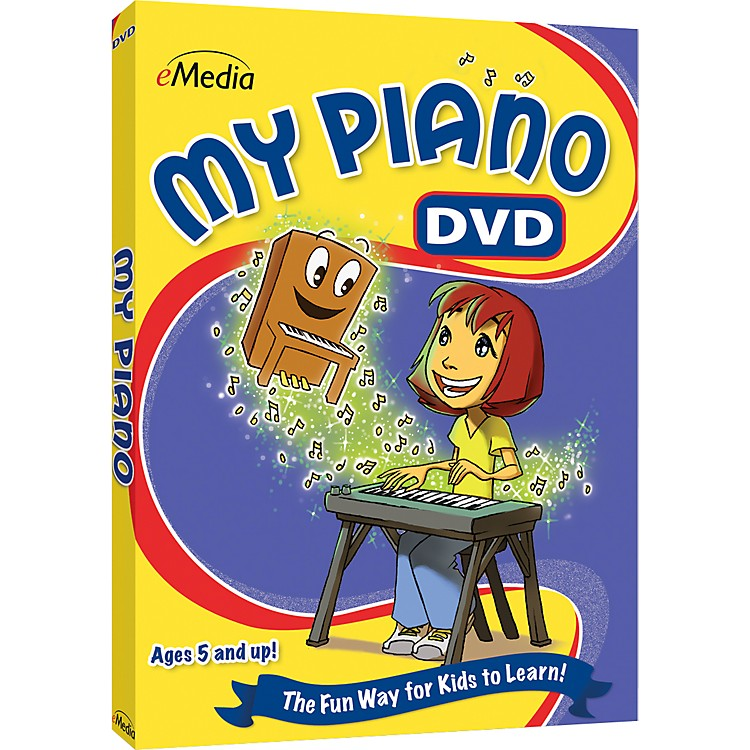 eMediaMy Piano DVD