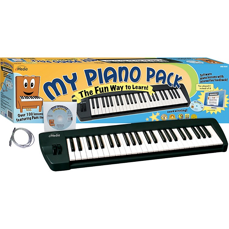 EmediaMy Piano Pack MIDI Keyboard and Instructional CD-Rom