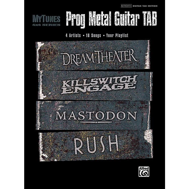 AlfredMy Tunes: Prog Metal Guitar Tab Book