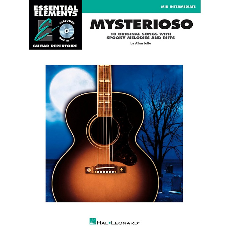 Hal Leonard Mysterioso - Mid Intermediate Essential Elements Guitar Repertoire Book/CD