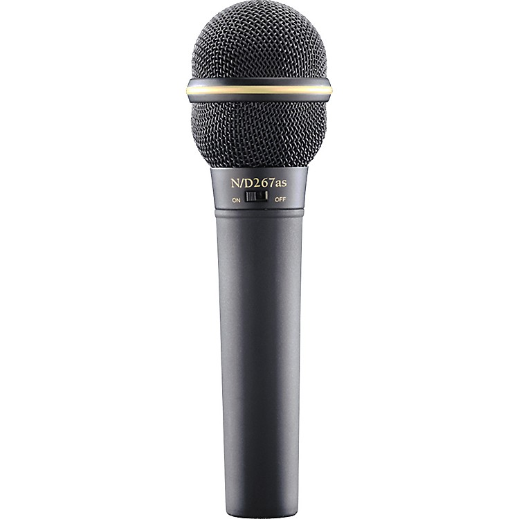 Electro-VoiceN D267AS Dynamic Microphone with On Off Switch