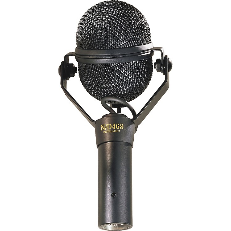 Electro-VoiceN/D468 Dynamic Supercardioid Instrument Microphone