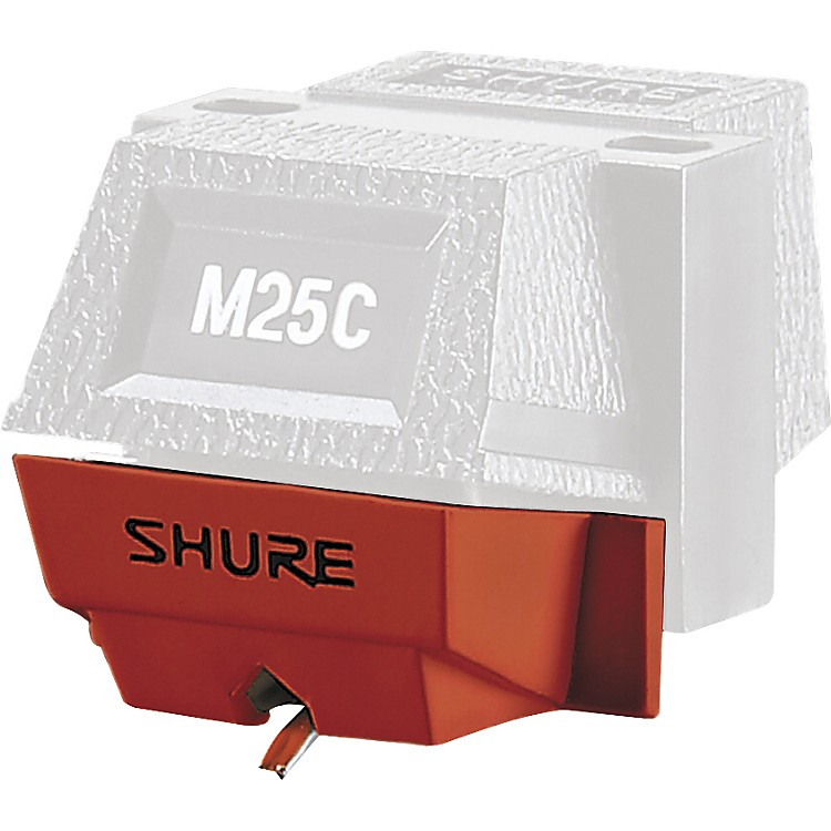 Shure N25C Stylus for M25C Fundamental Phono Cartridge  Single