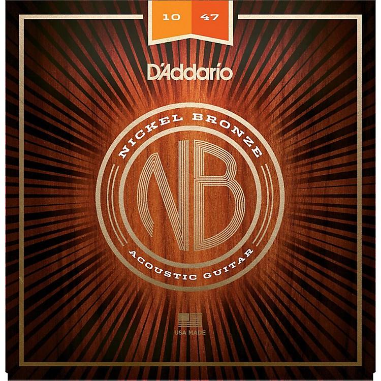 D'AddarioNB1047 Nickel Bronze Extra Light Acoustic Guitar Strings
