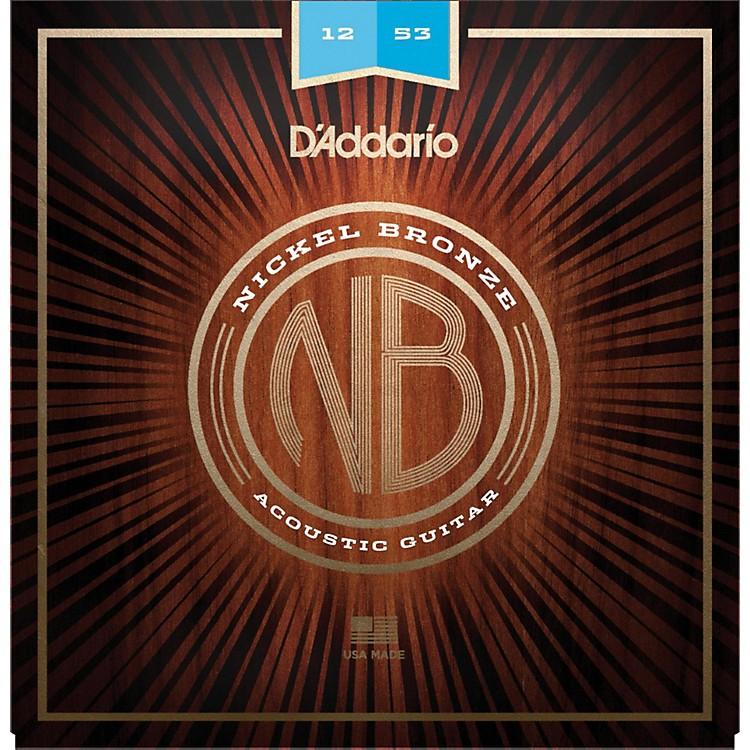 D'AddarioNB1253 Nickel Bronze Light Acoustic Strings
