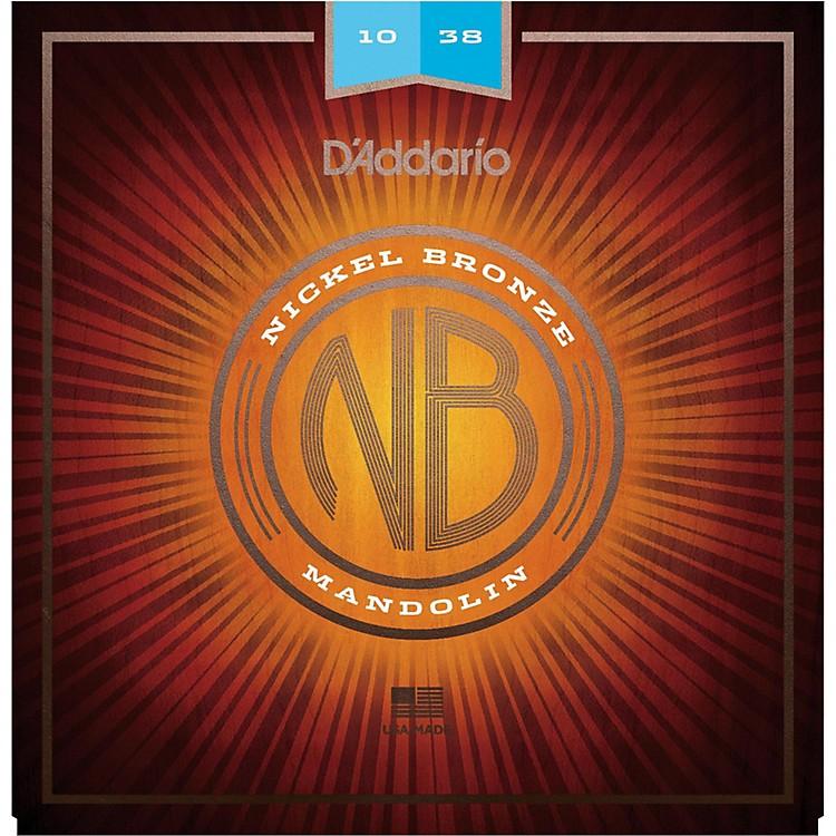 D'AddarioNBM1038 Nickel Bronze Light Mandolin Strings (10-38)