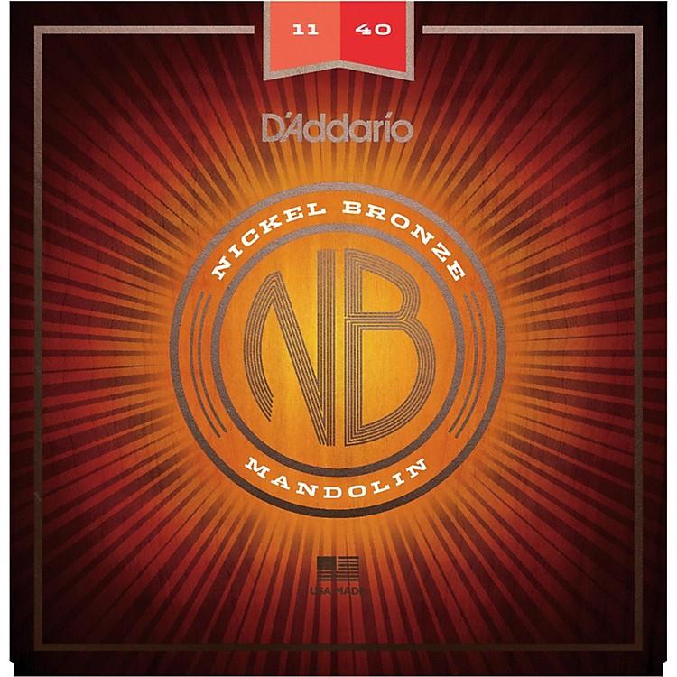 D'AddarioNBM1140 Nickel Bronze Medium Mandolin Strings (11-40)