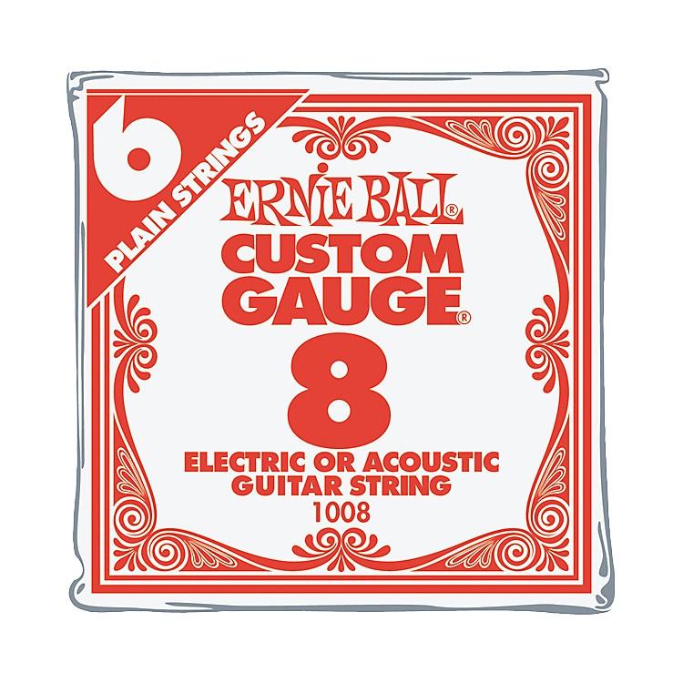 Ernie BallNCKL Plain Single Guitar String .010 Gauge 6-Pack.013 Gauge6-Pack