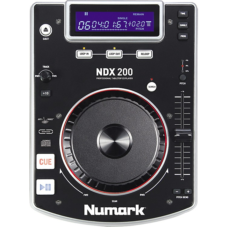 Numark NDX200 TABLETOP CD PLAYER