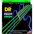 DR Strings NEON Hi-Def Green Bass SuperStrings Medium 4-String