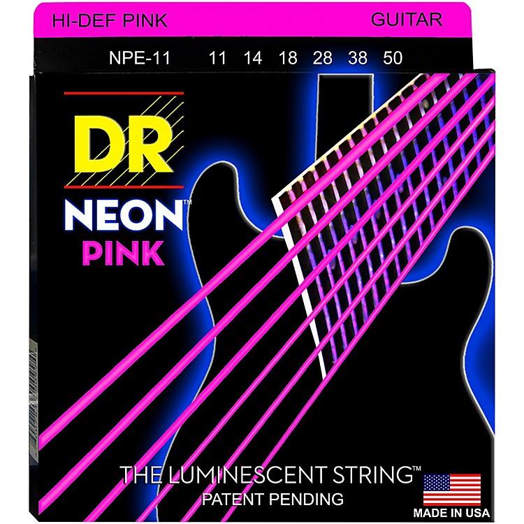 DR StringsNEON Hi-Def Pink SuperStrings Heavy Electric GUitar Strings