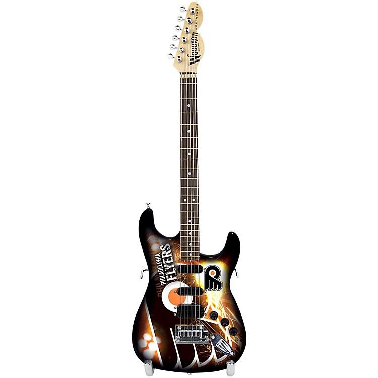 Woodrow GuitarsNHL 10 Inch Mini Guitar CollectiblePhiladelphia Flyers