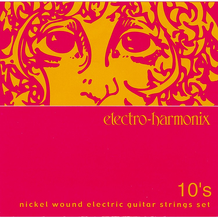 Electro-HarmonixNIC10 Nickel Wound Light Electric Guitar Strings