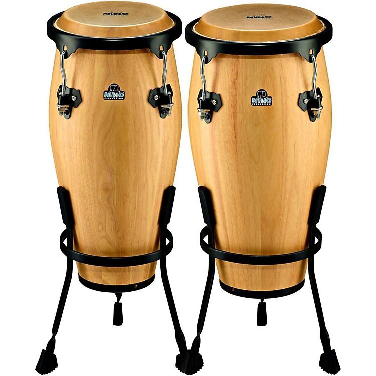 NinoNINO910 Wood Conga Set with StandsNatural