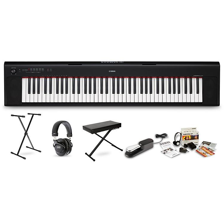 YamahaNP-32 Portable Keyboard PackageWhite
