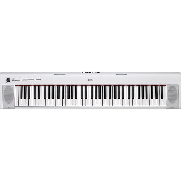 Yamaha NP32 76-Key Piaggero Portable Keyboard White