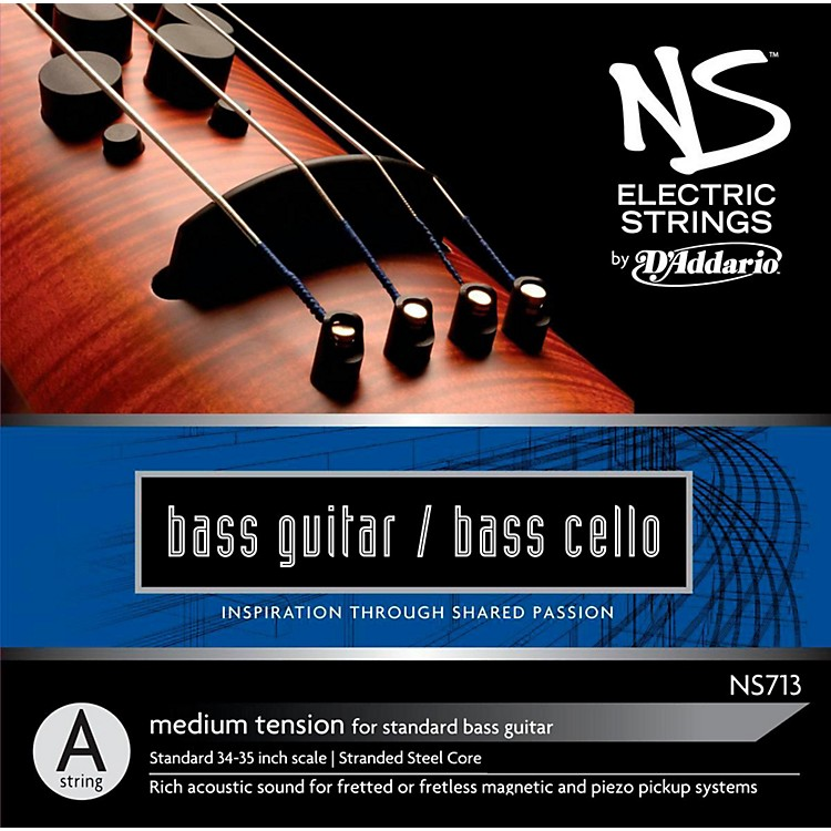 D'AddarioNS Electric Bass Cello / Electric Bass A String