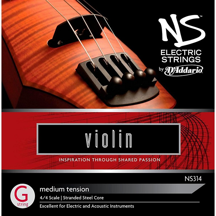 D'Addario NS Electric Violin G String