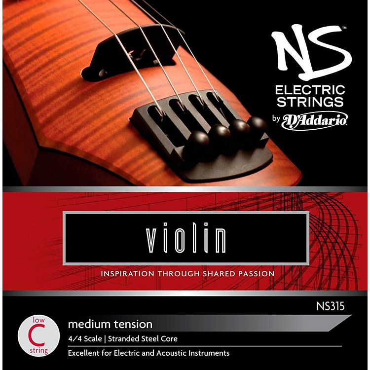 D'Addario NS Electric Violin String Low C