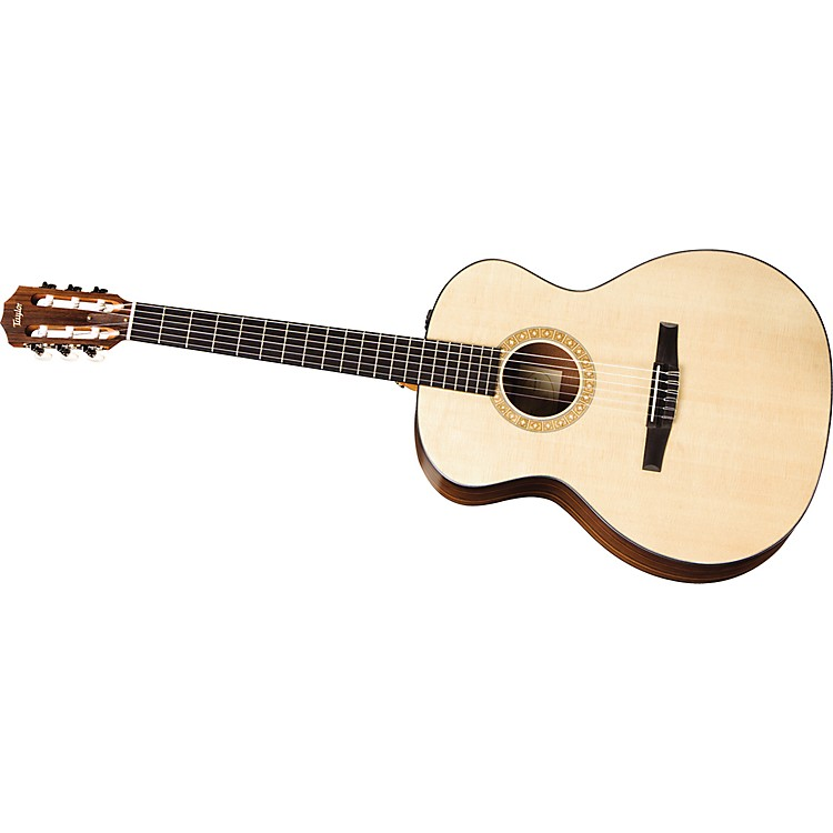 Taylor NS24-E-G-L Grand Auditorium Left-handed Nylon-String Acoustic-Electric Guitar