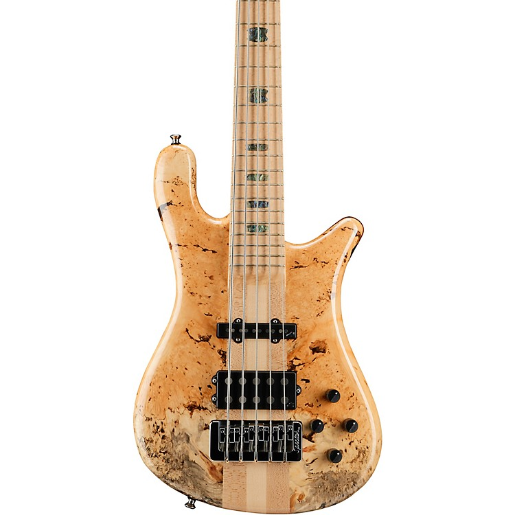 SpectorNS5 Box Elder Maple Top 5-String Electric BassGloss Natural