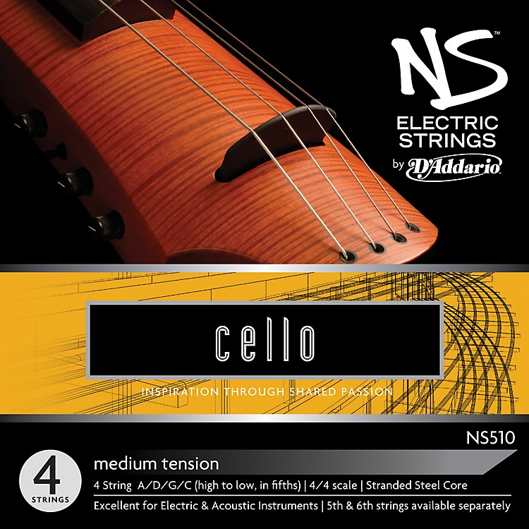 D'AddarioNS510 NS Electric Cello Strings