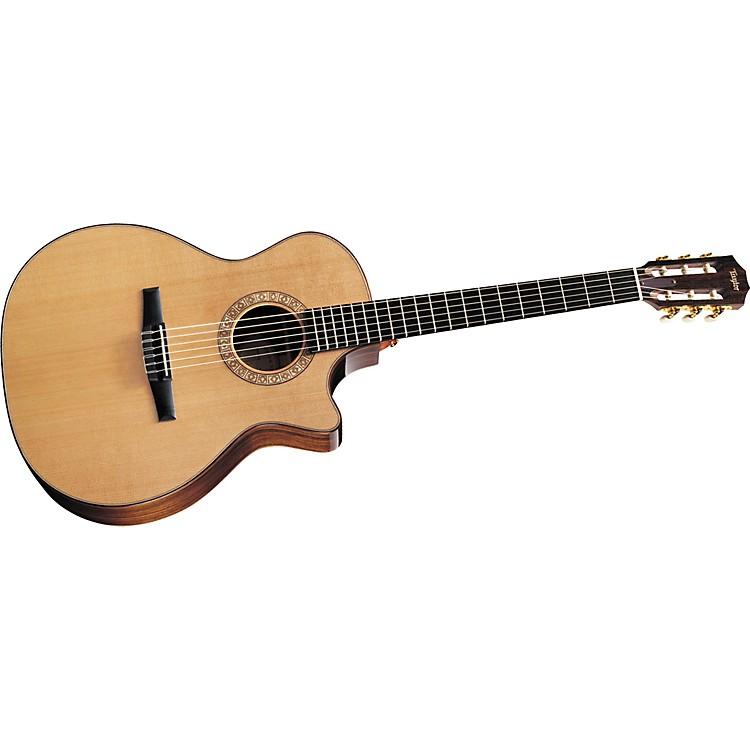 "TaylorNS74ce Grand Auditorium Cutaway Nylon-String Acoustic""Electric Guitar (2011 Model)Natural"