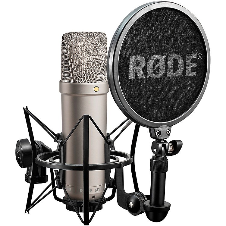 Rode Microphones NT1-A Cardioid Condenser Microphone Bundle