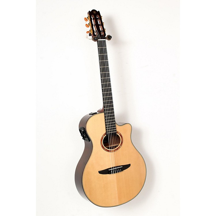 Yamaha NTX1200R Acoustic-Electric Classical Guitar Natural 888365850795