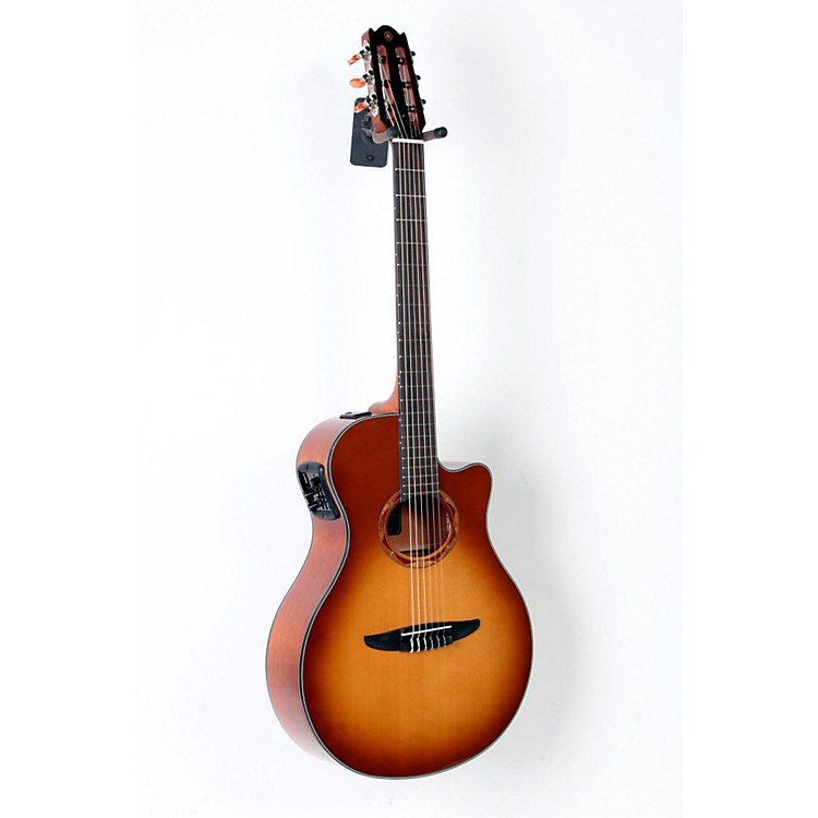 Yamaha NTX700 Acoustic-Electric Classical Guitar Sand Burst 888365799520
