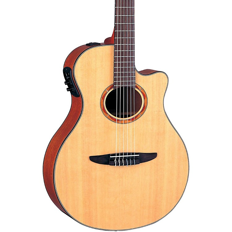 Yamaha NTX700 Acoustic-Electric Classical Guitar Natural