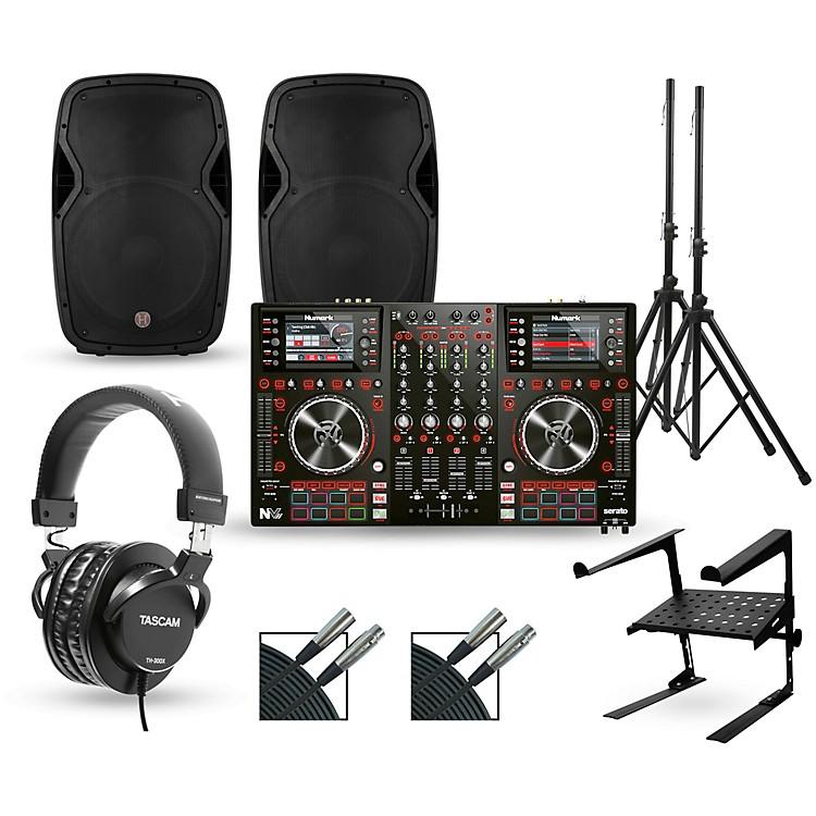 NumarkNV MKII with Harbinger V1015 DJ Package