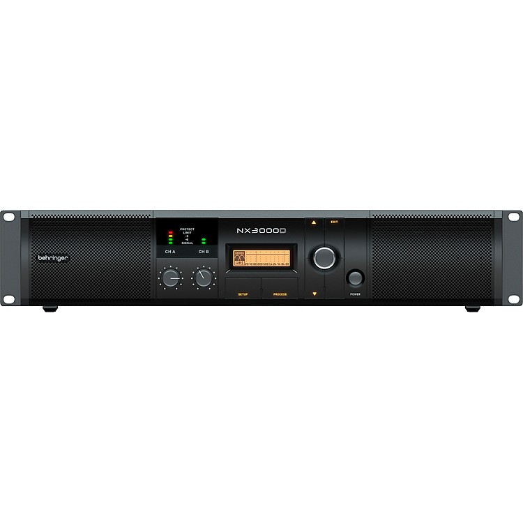 BehringerNX3000D Power Amplifier with DSP