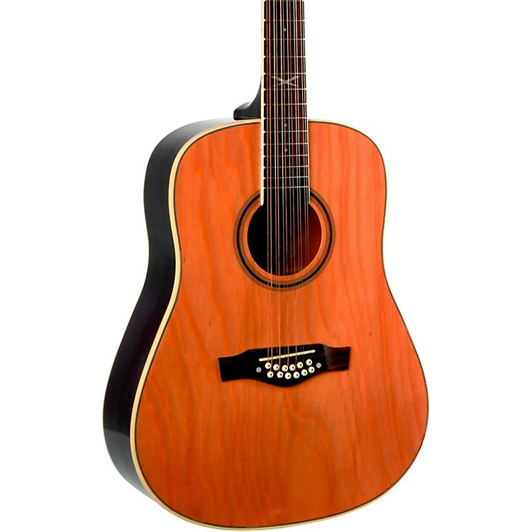 EKONXT Series 12-String Dreadnought Acoustic GuitarNatural