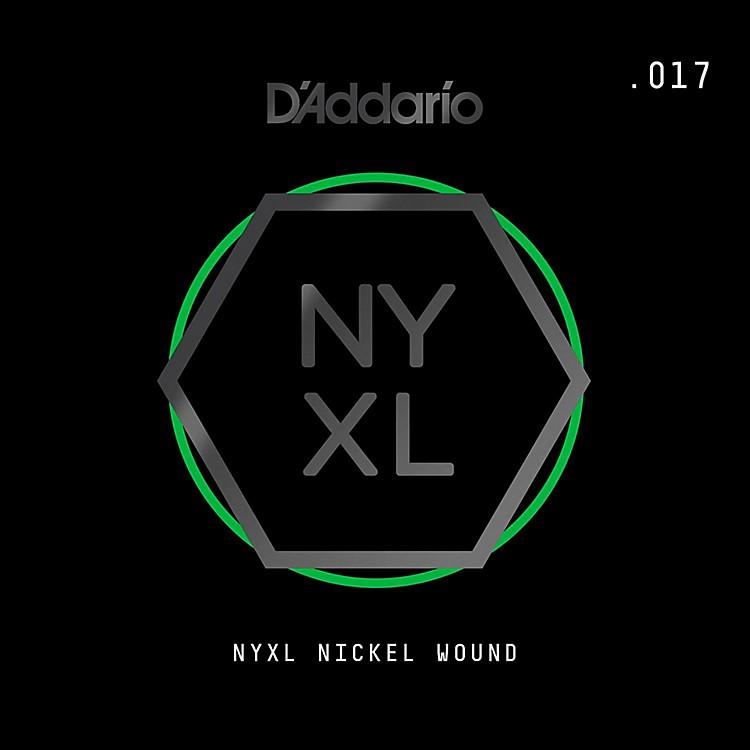 D'AddarioNYNW017 NYXL Nickel Wound Electric Guitar Single String, .017