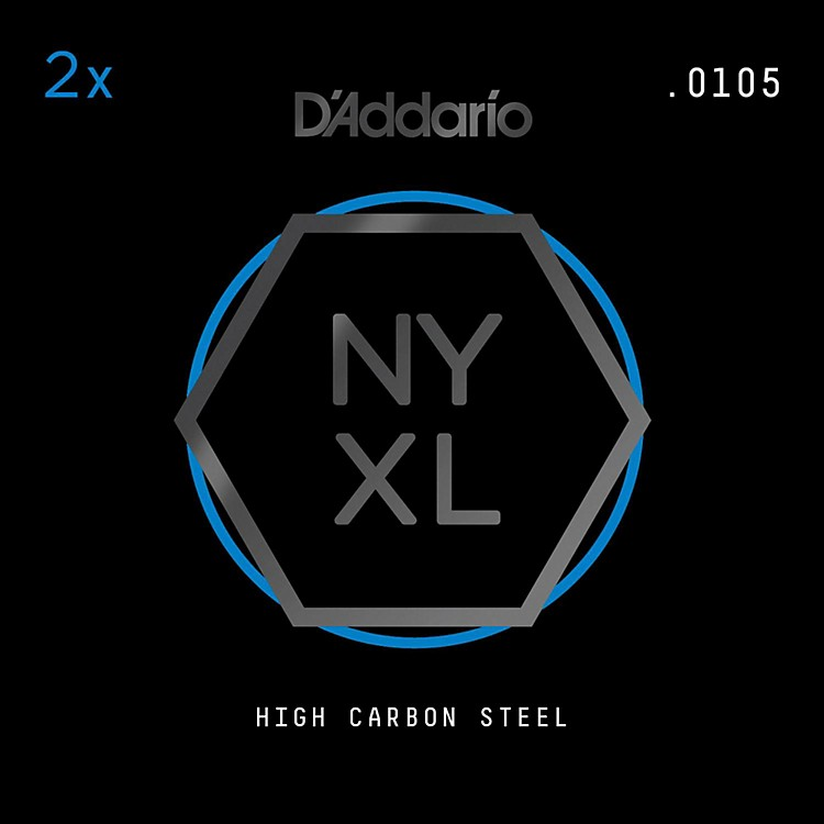 D'AddarioNYXL Plain Steel .010GA (2-Pack)