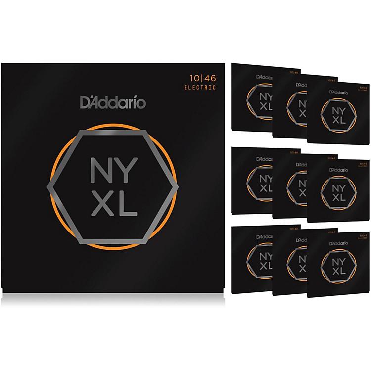 D'AddarioNYXL1046 Light 10-Pack Electric Guitar Strings