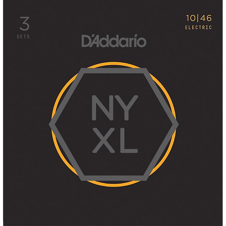 D'AddarioNYXL1046 Light 3-Pack Electric Guitar Strings