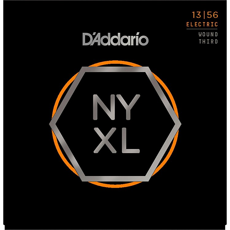 D'Addario NYXL1356W Medium Electric Guitar Strings