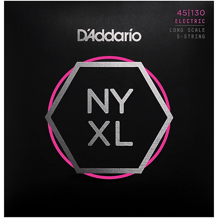 D'Addario NYXL45130 Gauge NPS Long-Scale Bass Strings