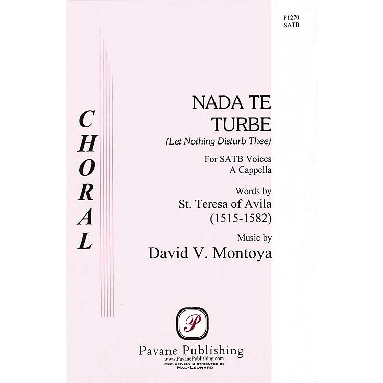 PavaneNada Te Turbe SATB a cappella composed by David Montoya