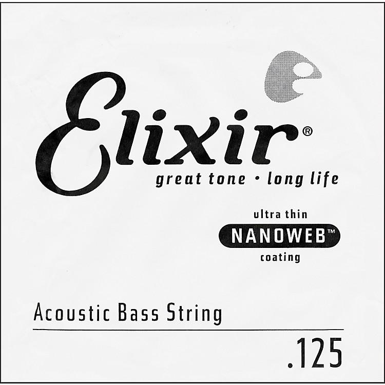 ElixirNanoweb .125 Single Acoustic Bass String