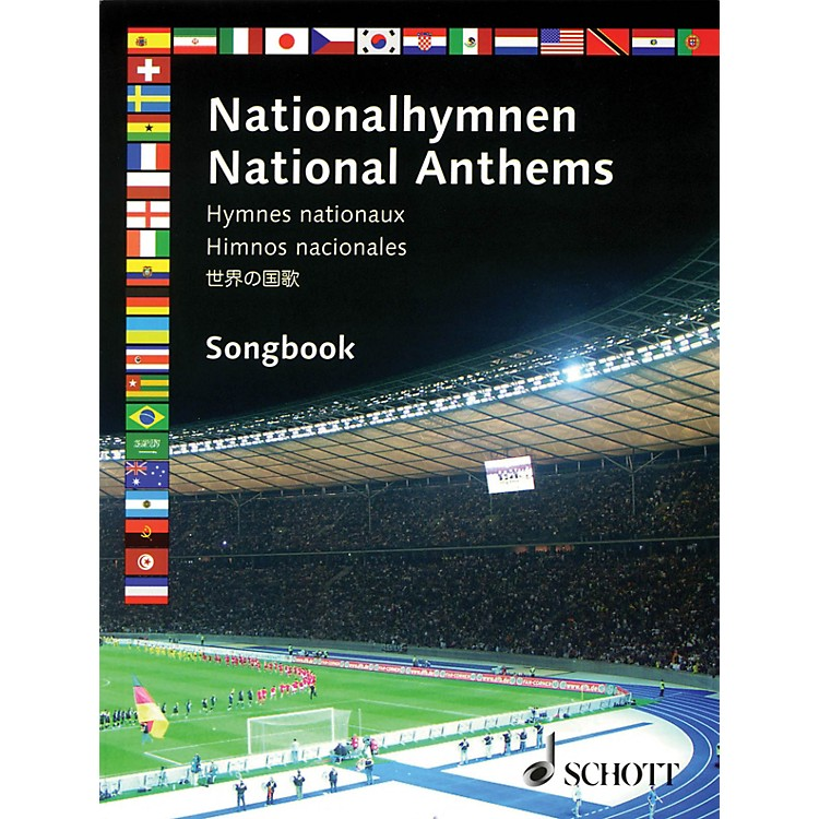 Schott National Anthems Misc Series Softcover