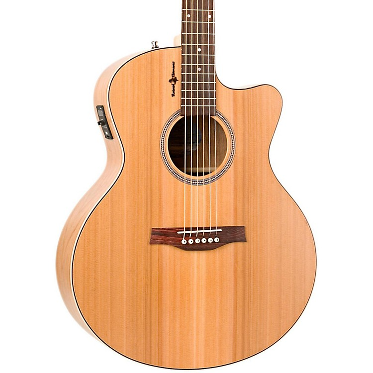 SeagullNatural Cherry CW Mini Jumbo SG Acoustic-Electric Guitar