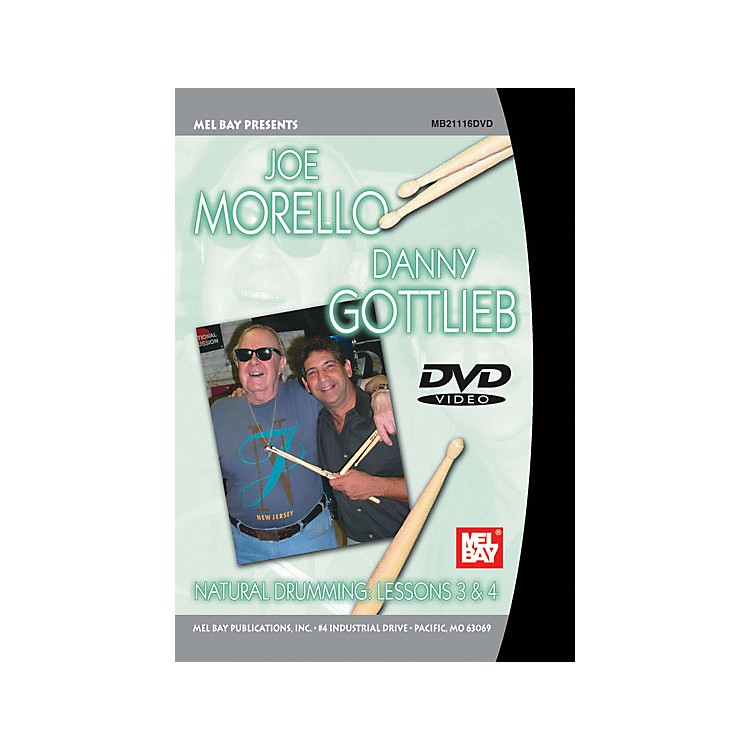 Mel BayNatural Drumming: Lessons 3 and 4 DVD