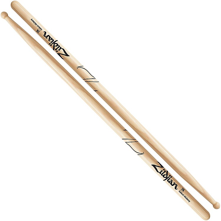 Zildjian Natural Hickory Drumsticks 7A Wood