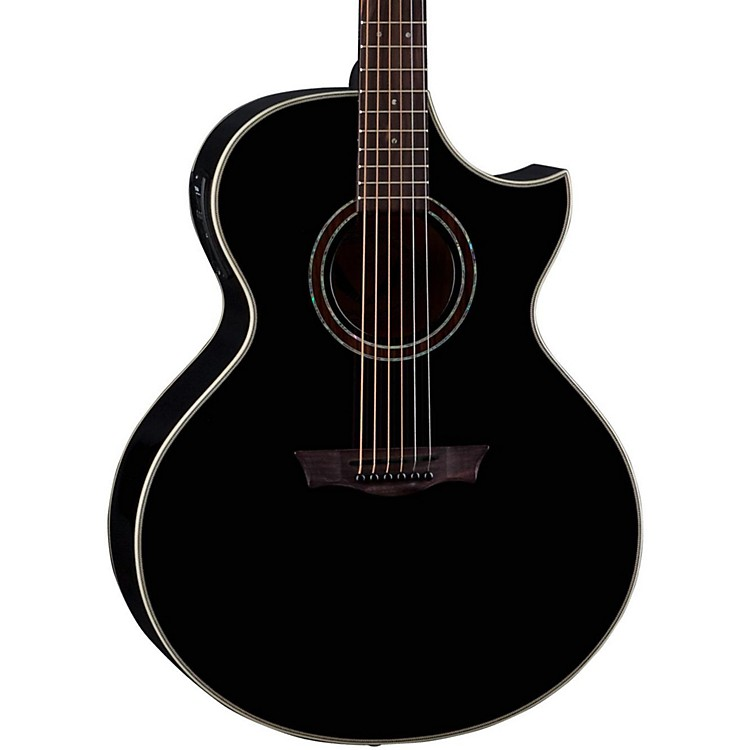 DeanNatural Series Florentine Cutaway Acoustic-Electric Guitar with Aphex